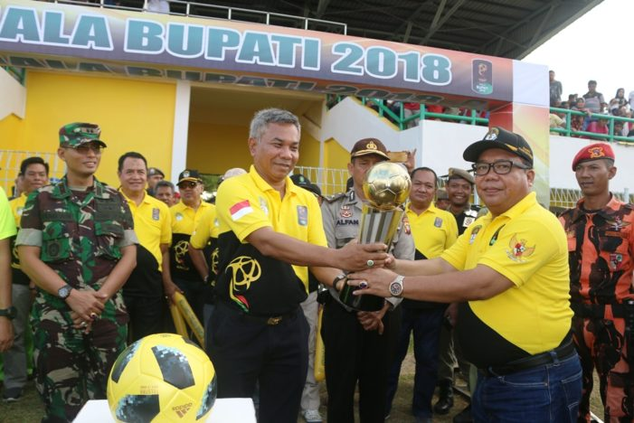40 Kesebelasan Ikut Meramaikan Piala Bupati Cup