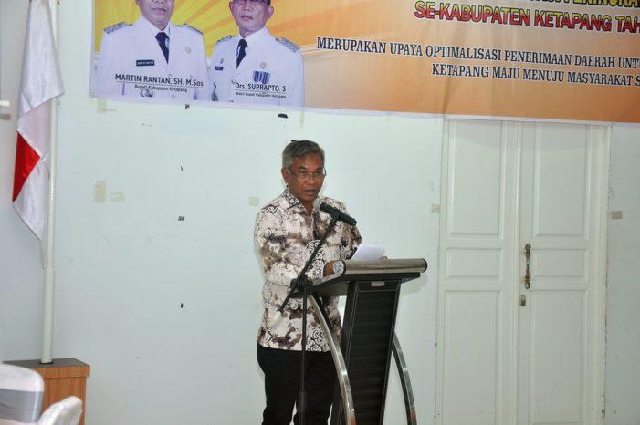 Pendapatan Asli Daerah Ketapang Harus Ditingkatkan