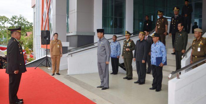 Sekda Inspektur Upacara Hari Pahlawan di Ketapang