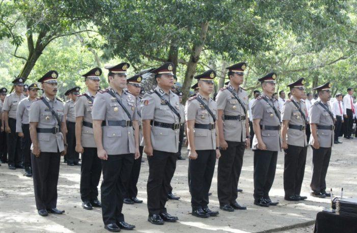 Sejumlah Perwira Polres Ketapang Bergeser