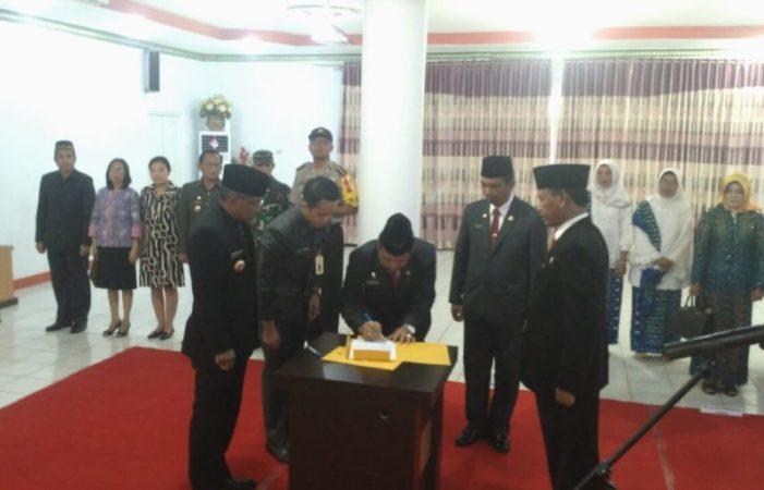 Farhan Resmi Dilantik Jadi Sekretaris Daerah Ketapang