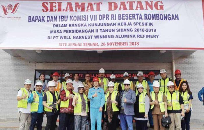 Komisi VII DPR Berharap PT WHW Jadi Pusat Pengembangan Industri Berbasis Bauksit di Indonesia