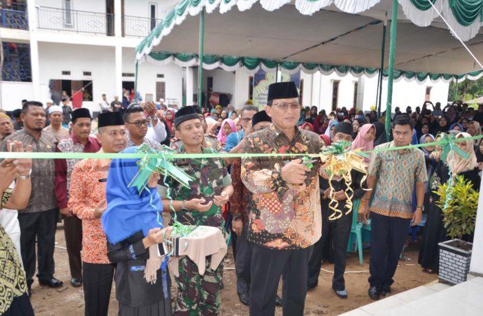 Wabup Resnikan Penggunaan Gedung Asrama Santri Putri Pondok Pesantren Mambaul Khairat