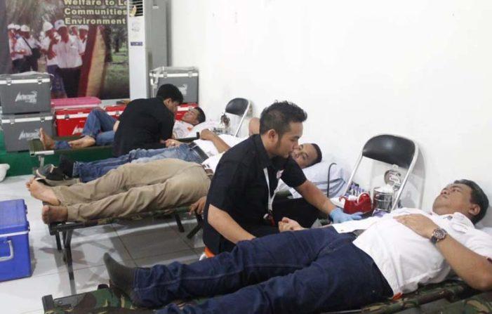 Peringati HUT, BGA Gelar Baksos Donor Darah