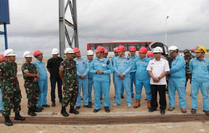 Kunjungi WHW AR, Pangdam XII/Tanjungpura Tinjau Perkembangan Investasi Strategis di Kalbar