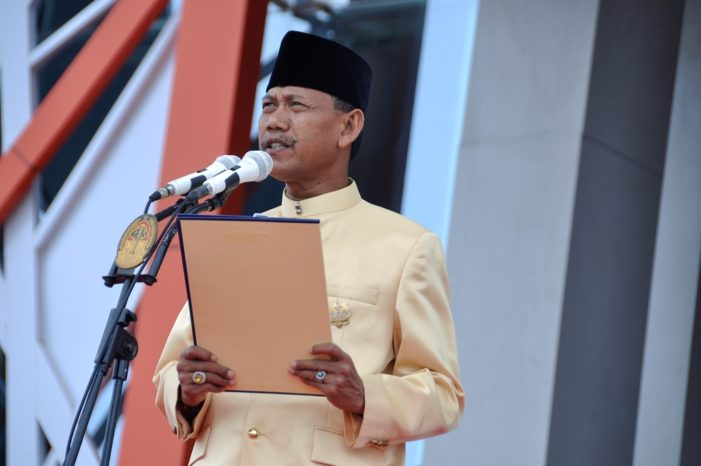 Pemkab Ketapang Gelar Apel HUT ke 62 Pemprov Kalbar