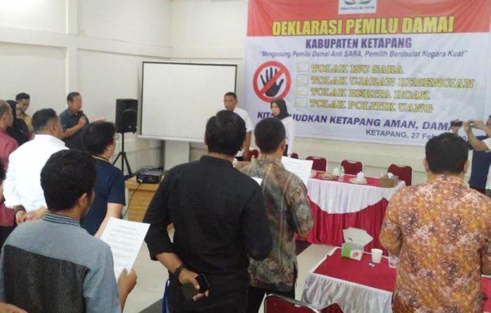 FPIP Ketapang Gelar Deklarasi Pemilu Damai