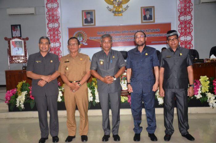 Bupati Sampaikan LKPJ ABPD Tahun 2018
