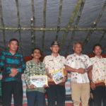 Kunjungan Kerja Bupati Martin Rantan di Desa Runjay Jaya kecamatan Marau Ketapang