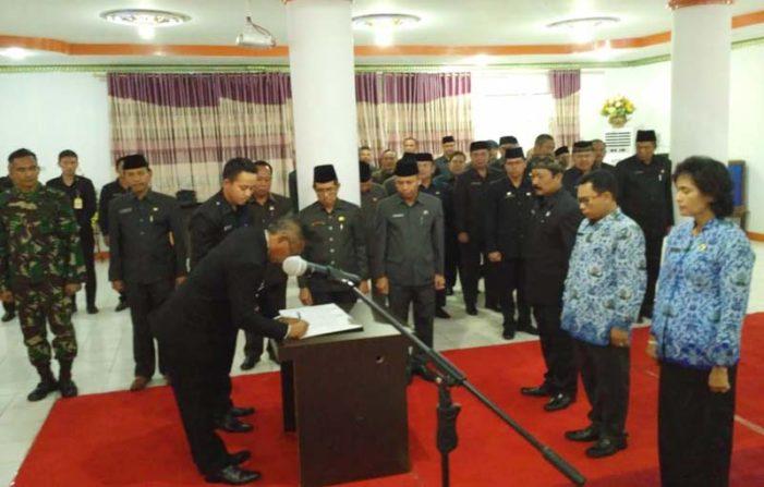 Bupati Kembali Lantik 18 Pejabat Struktural Pemkab Ketapang