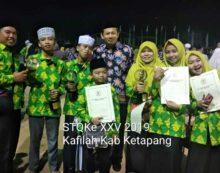 STQ Singkawang: Kafilah Ketapang Dominasi Juara Hadits Bersanat dan Tanpa Sanat