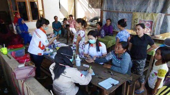 BGA Kembali Salurkan Bantuan Sembako Untuk Korban Banjir