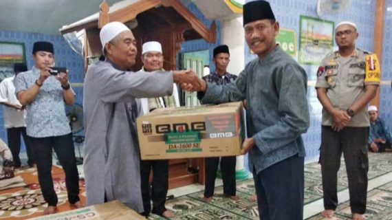Pemkab Safari Ramadhan ke Masjid Fatahurrahman Pesaguan Kiri