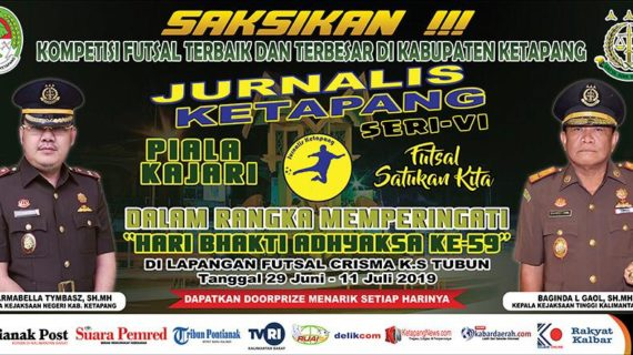 Pemain Liga Futsal Profesional Indonesia Berlaga di Jurnalis Cup Seri VI
