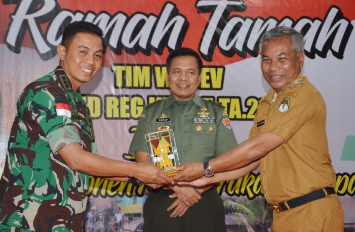 Bupati dan Forkopimda Ramah Tamah Dengan Tim Wasev TMMD Reg 105 Tahun 2019