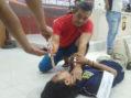 Polres Ketapang Gelar Reka Ulang Pembunuhan IRT Oleh Suaminya