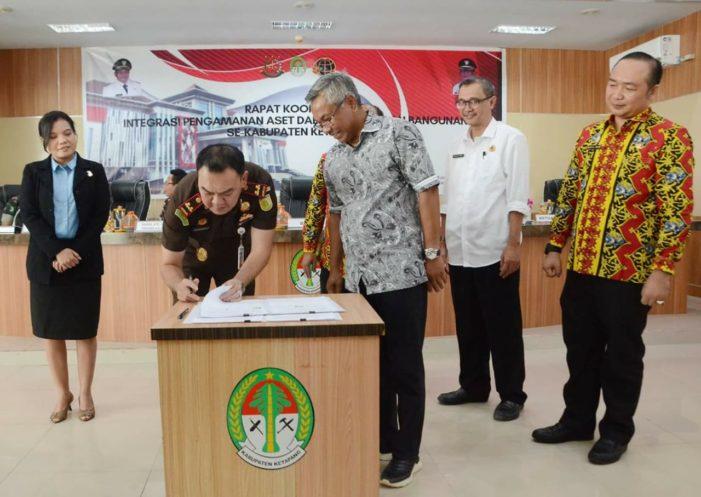 Rapat Koordinasi integrasi Aset Daerah
