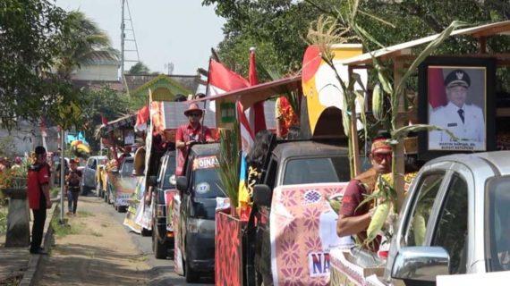 Karnaval Budaya Dayak Ketapang Diikuti Multi Etnis