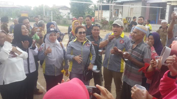 Gerakan Massal Minum Obat Kaki Gajah di Kecamatan Muara Pawan