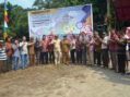 Bupati Louching Desa fokus di Desa Balai Pinang Kecamatan Simpang Hulu