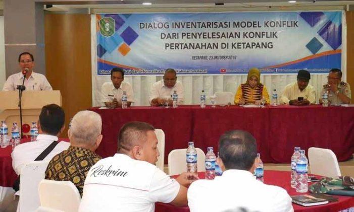 Diskominfo Kalbar Gelar Dialog Penyelesaian Konflik Pertanahan