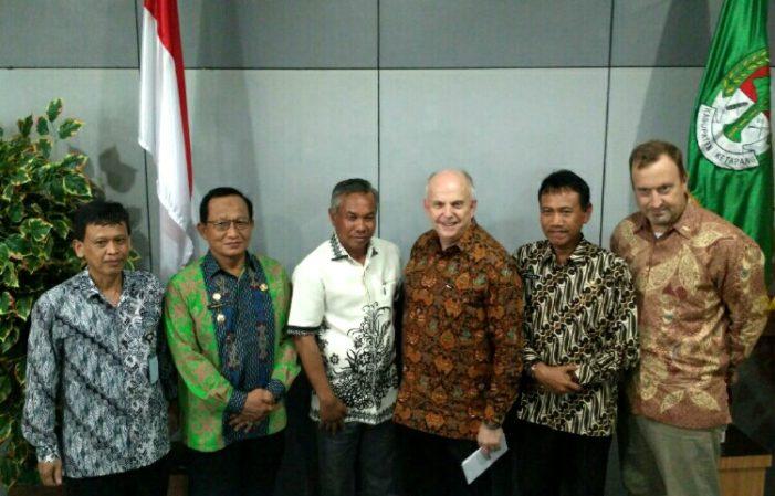 Berhasil Cegah Rabies, Dubes AS Kunjungi Kabupaten Ketapang