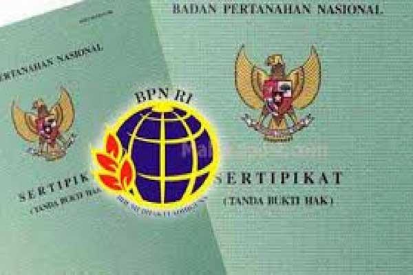 BPN Tergetkan Program PTSL Rampung Akhir Tahun