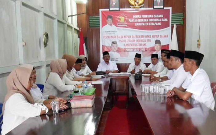 Pendaftaran Balon Bupati dan Wakil Bupati di Gerindra Gratis