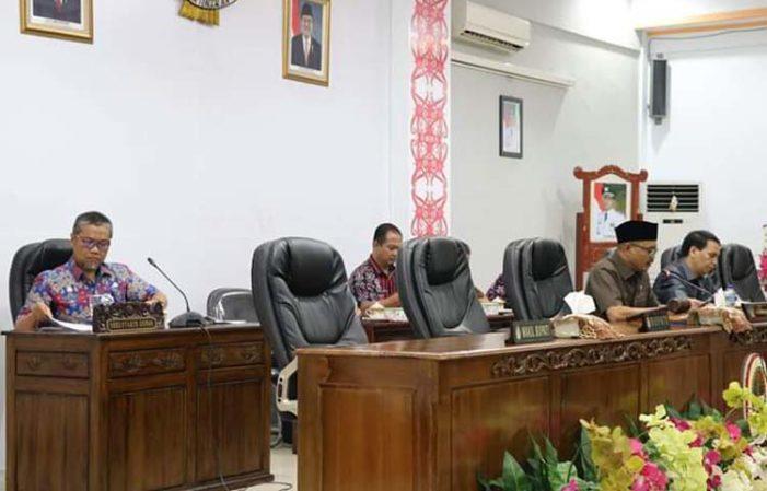 DPRD Ketapang Tetapkan Nama Unsur Pimpinan Definitif