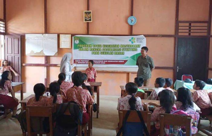 Dinas Kesehatan Sosialisasi Stunting Pada Pelajar SD