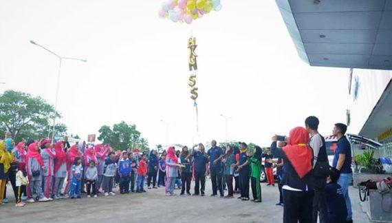 """55 Tahun HKN """" Generasi Sehat Indonesia Unggul """""""