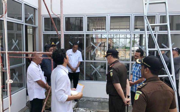 Batas Kontrak Renovasi Puskesmas Kedondong Tersisa 4 Hari