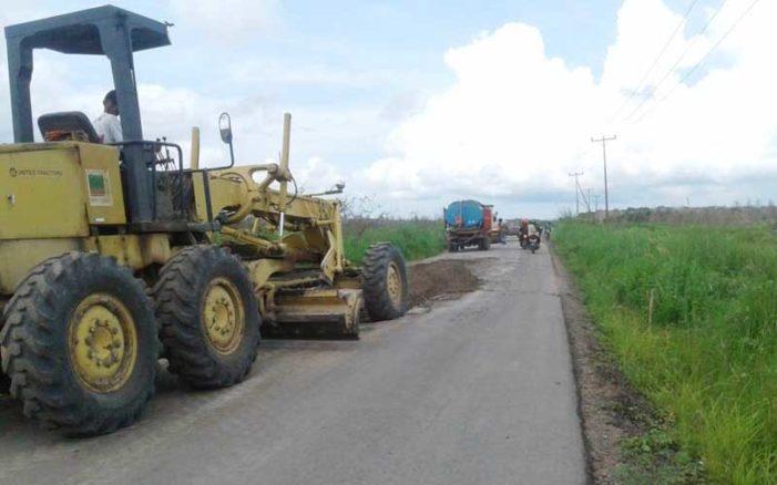 Tiga Pekan Jalani Denda, Proyek Pelang – Batu Tajam Belum Selesai