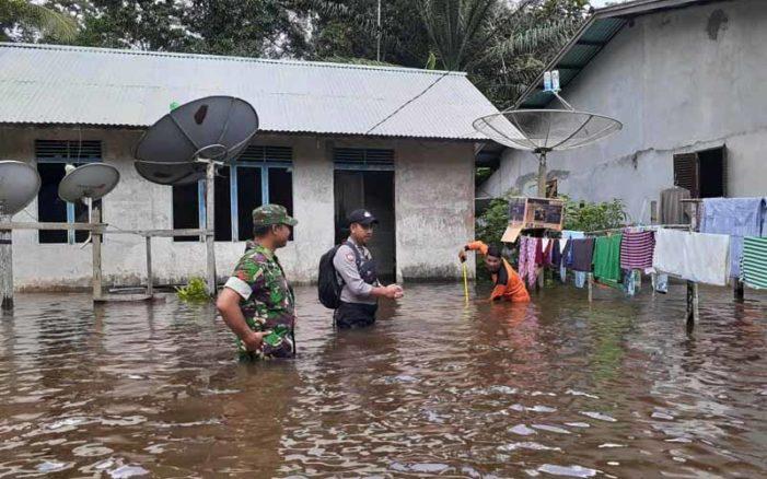 Sungai Laur Kembali Dilanda Banjir