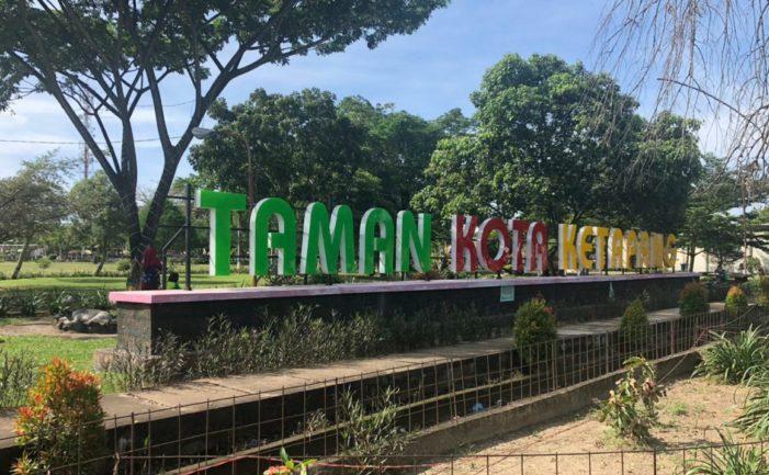 Dinas Perkim Maksimalkan Keindahan Taman Kota Ketapang