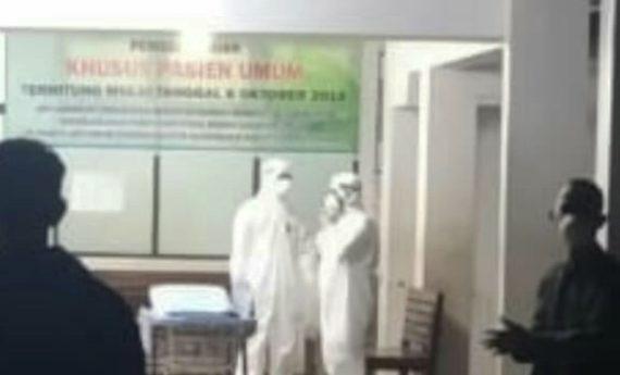 Pasien Diduga Infeksi Virus, RSUD Masih Tunggu Hasil Uji Lab