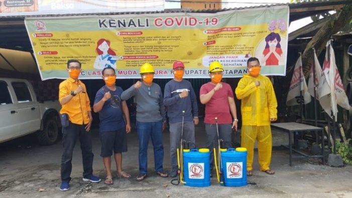 DPC Lasmura Ketapang Peduli Pandemi Covid-19