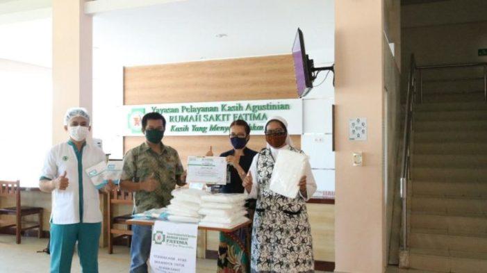 RS Fatima Terima Bantuan 1.000 Masker N-95 dan Baju Hazmat