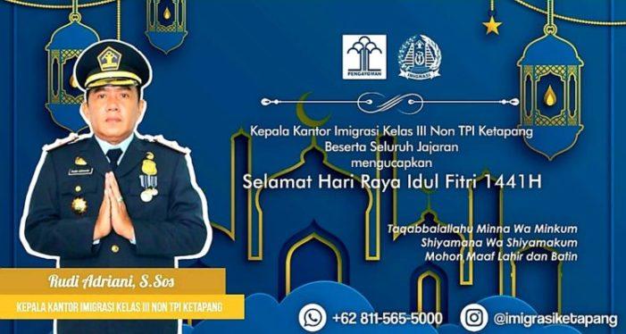Iklan Idul Fitri 1441 H Imigrasi Ketapang