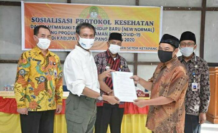 Rumah Ibadah di Sungai Melayu dan Nanga Tayap Dapat Bantuan