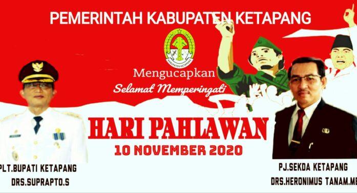 Iklan Pemda Hari Pahlawan 10 November 2020
