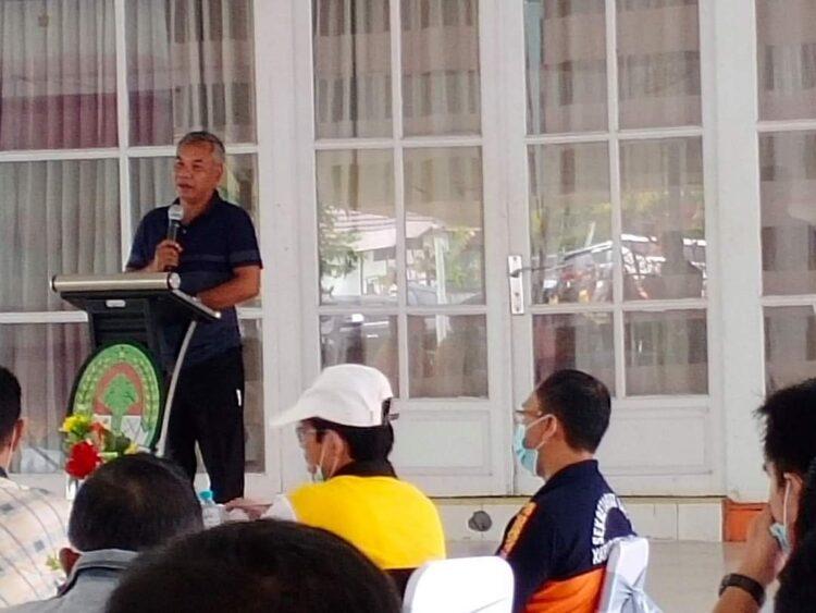 Bupati Ketapang Martin Rantan, SH.,M.Sos bersama seluruh kepala OPD beserta staff adakan Coffee Morning