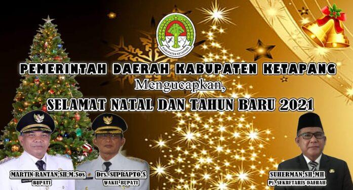 Iklan Pemda Natal & Tahun Baru 2021