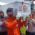 Korbam Sriwijaya SJ 182 saat tiba di Ketapang.