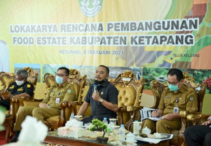 Ketua DPRD M.Febriadi Dukung Program Food Estate