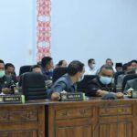 Rapat Paripurna Penyampaian Laporan Hasil Reses Anggota DPRD Kabupaten Ketapang masa Persidangan pertama Tahun Sidang 2020-2021.