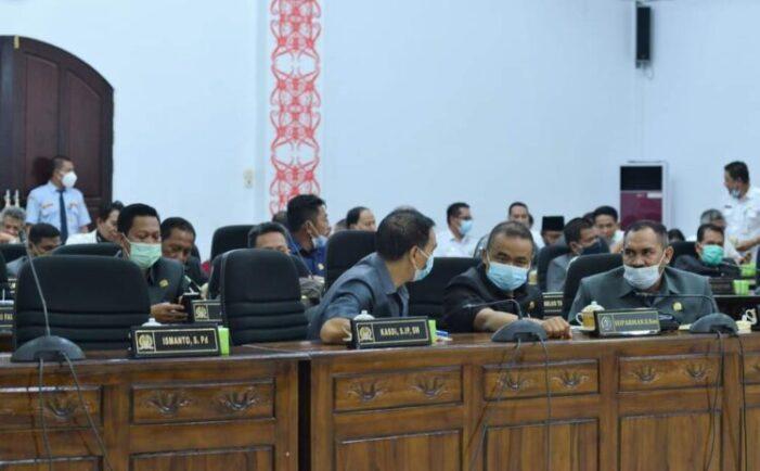 Rapat Paripurna, Laporan Hasil Reses Anggota DPRD Ketapang