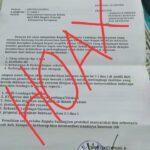 Surat Hoax Bupati Ketapang.