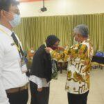 Bupati Ketapang Martin Rantan membuka kegiatan Pelatihan Dasar CPNS