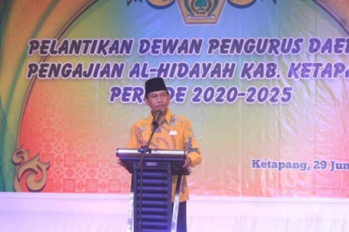 Wabup Farhan, Hadiri Pelantikan DPD pengajian Al-Hidayah